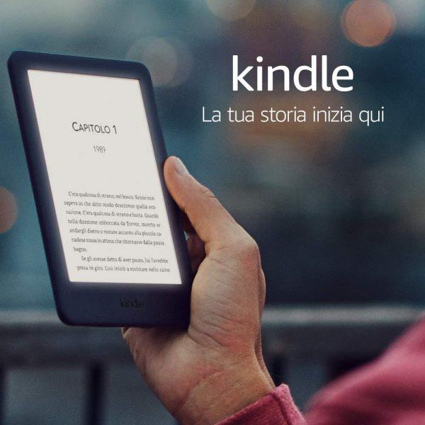 Solo per oggi Nuovo Kindle Amazon a partire da 59,99 euro!