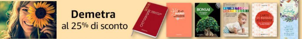 -25% di sconto su tutto il catalogo Demetra!